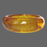 Stardust Bakelite Bangle Bracelet, Vintage Prystal 1937, As Is