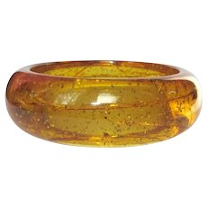 Stardust Bakelite Bangle Bracelet, Vintage Prystal 1937, As Is