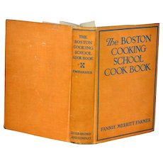 Vintage The Boston Cooking School Cook Book 1943