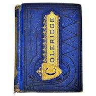 Antique Rare Book  The Poetical Works of S.T. Coleridge 1853