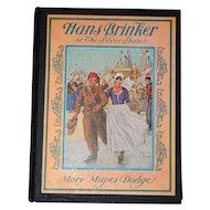 Vintage Hans Brinker and the Silver Skates Children's Book