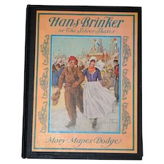 Vintage Hans Brinker and the Silver Skates Children's Book