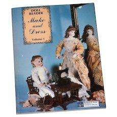 Antique Doll  Dress Patterns Sewing  Doll Restoration Book