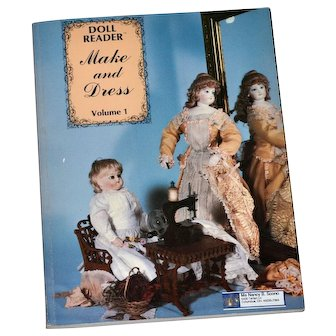 Antique Doll  Dress Patterns Sewing  Doll Restoration Book