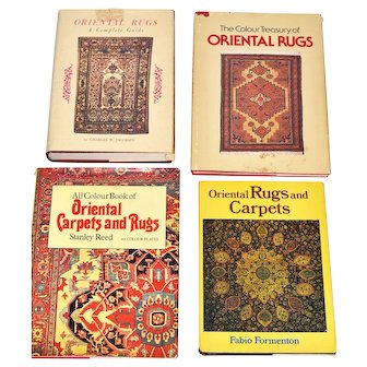 Oriental Rugs Four Reference Books for Collectors