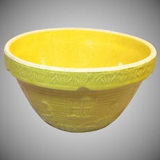 Rare 1920's Yellow Mixing Bowl By McCoy Pottery