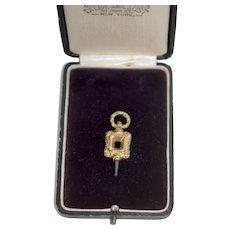 Antique Victorian Pocket Watch Winding Key Sz O (FF)