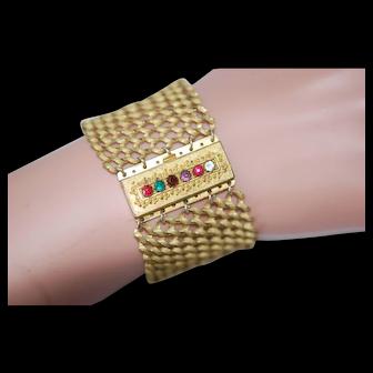 """Georgian Acrostic """"REGARD"""" Bracelet"""