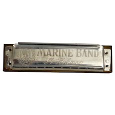 Marine Band Harmonica by M Hohner: Fun Gift