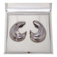 Robert Lee Morris Sculpted Clip-On Earrings