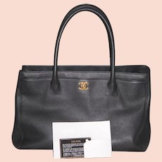 CLEAN OUT: Chanel Tote Hand Bag Purse Orig Box SRP $3500