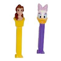 2 Disney Pez Dispensers