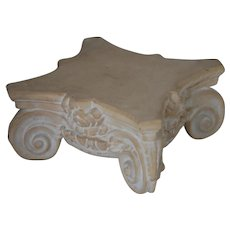 Vintage Architectural Corbel Stand