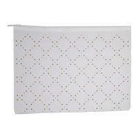 Chanel Perforated Cloth Zip Garmet Bag
