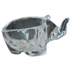 Premium Sasaki Glass Co Elephant Trunk Up Good Luck