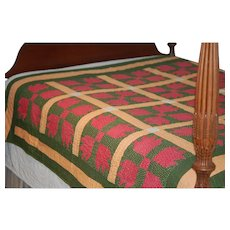 -50%: Old Quilt in Ex Condition