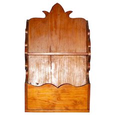 Vintage Wood Wall Shelf