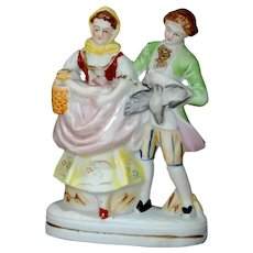 Unmarked Antique Bisque Figure