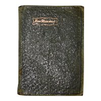 Old Leather New Testament V Good Cond