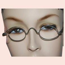 Old Metal c1880-1910 Eyeglass Frames