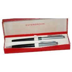 Vintage Unused Esterbrook Pen Pencil Set in Original Box