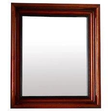 "Antique Solid Wood 12x14 x 2"" Deep Frame w Mirror"