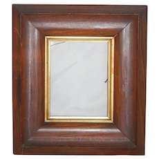 """Old Handmade Solid Wood Frame 10.5"""" x 9"""""""