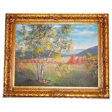 Original 1953 Lila Shelby Beautifully Framed Oil Still Life