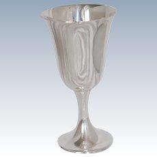 Sterling Silver Goblet Gorham 272