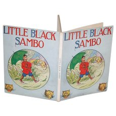 1920's Little Black Sambo V. Good Cond