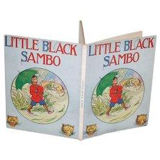 1920's Little Black Sambo V. Good Cond