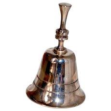 Estate Tea Bell in Orig Box Silverplated