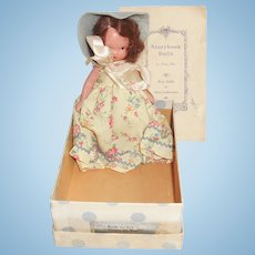 1940s NASB Nancy Ann Storybook Doll w Box 113 Papers