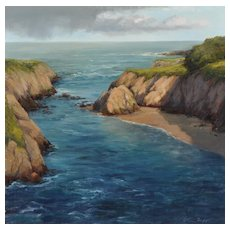 Beautiful California Coastal Scene by Kathleen Dunphy