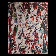 Lois Graham Monotype Titled Splinter II