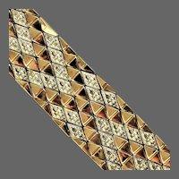 52.25 Grams of 18K Italian YG Bracelet with Dogwood Design