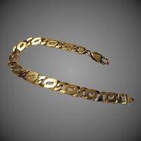 "19 Grams, 14K YG Curb Link Bracelet, 7 1/4"" Closed"