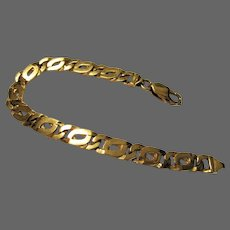 "19 Grams, 14K YG Curb Link Bracelet, 7 1/4"" Closed"