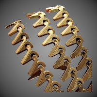 36.2 Grams, 18K YG Italian Fancy Link Necklace