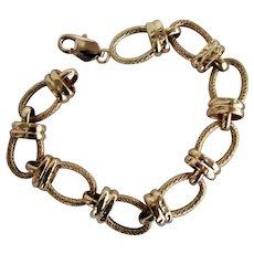 13.5 Grams, 14K YG Link Bracelet