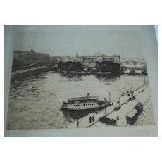Stockholm 1934,   Anders Heller   Hungarian artist