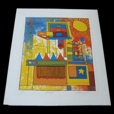Scott Prior  1971 Original Lithograph