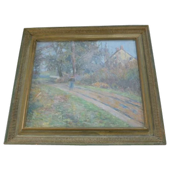 Lucy Hariot Booth  American Impressionism