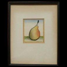 """Pear"" by Luigi Rist 1959"
