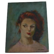 Helen Ratkai oil Portrait  listed artist