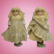 "Antique Armand Marseille 1896 12"" Bisque Child Doll HTF MOLD"