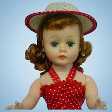 Madame Alexander 1950's Auburn Cissette Doll Tagged OUTFIT