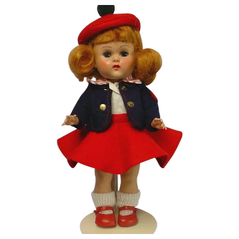 Vogue Ginny MLW Auburn Doll MINTY