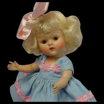 Vogue Ginny Strung blonde Doll 1952 MARGIE STUNNING