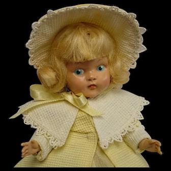 Vogue Painted Eye Blonde Strung Doll PRECIOUS